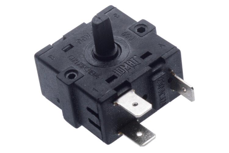 Переключатель режимов Homat 12A 250V T100 3 контакта 69289 для обогревателей